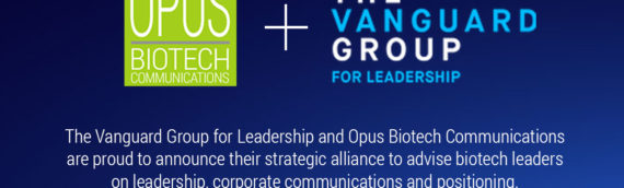 Opus Biotech Communications , Vanguard Leadership Group Form Strategic Alliance